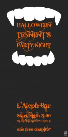 Halloween Tennent\'s Party Night