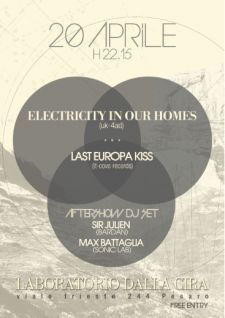 electricity in our homes + last europa kiss