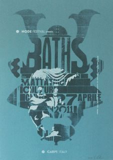BATHS @ Mattatoio Culture Club