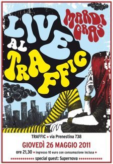 Mardi Gras Live Traffic Rock Club