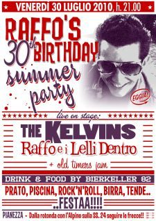 Raffo's 30th Birthday summer party