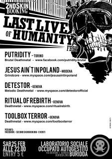last live of humanity fest