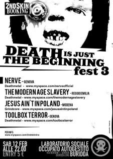Death is just the beginning fest 3