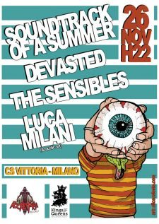 SOUNDTRACK OF A SUMMER/DEVASTED/THE SENSIBLES/LUCA MILANI