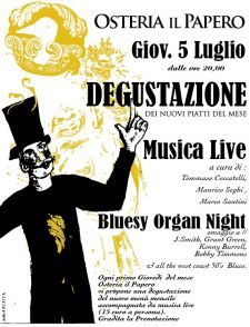 Osteria Il Papero | Bluesy organ night