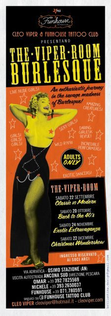 Cleo Viper. The Viper Room Burlesque