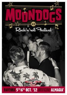 Moondogs Rock And Roll festival #2 Adv