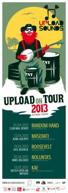 UPLOAD ON TOUR 2013