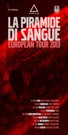 La Piramide di Sangue European Tour 2013