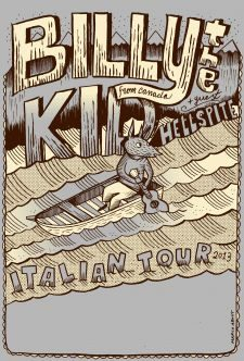 BILLY THE KID ITALIAN TOUR 2013