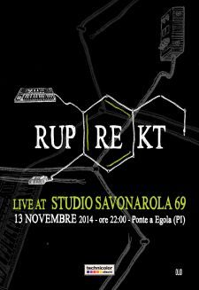 ruprekt live at Studio Savonarola 69