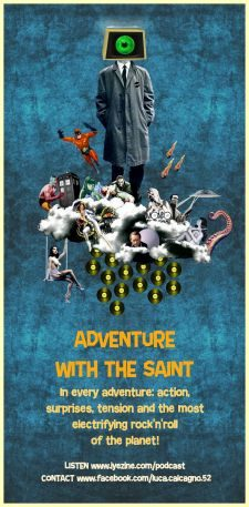 ADVENTURE WITH THE SAINT - ROCK'N'ROLL PODCAST