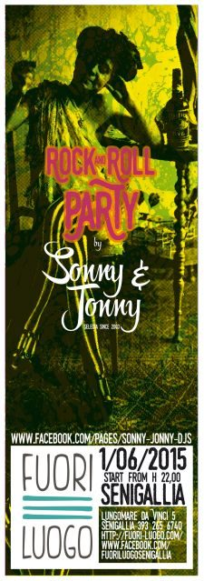 sonny & jonny Rock n Roll party