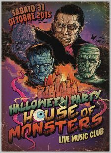 HALLOWEEN PARTY - HOUSE OF MONSTERS