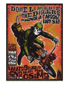 dome la muerte & the diggers + magnolia caboose baby shit