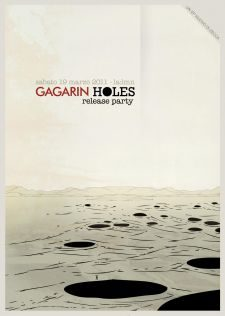 GAGARIN HOLES release party