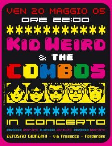 Kid Weird & the Combos live @ Giordani
