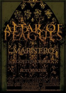 Altar Of Plagues in Bologna