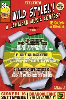 Wild Style a jamaican music contest