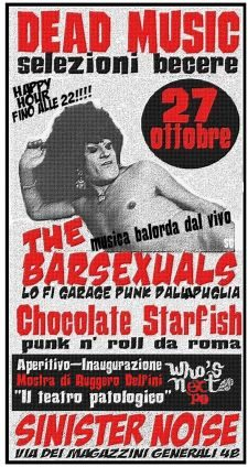 The Barsexuals live in Sinister Noise