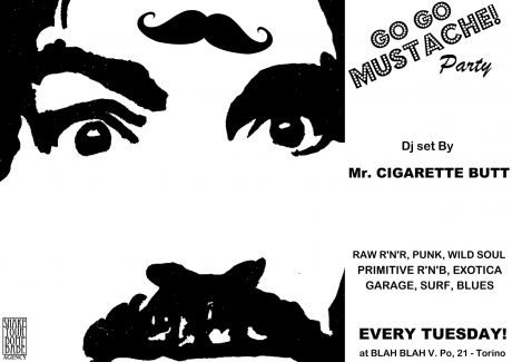 GO GO MUSTACHE!party marzo