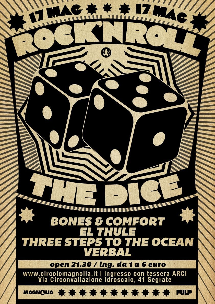 Three Steps to the Ocean - Rock N' Roll The Dice