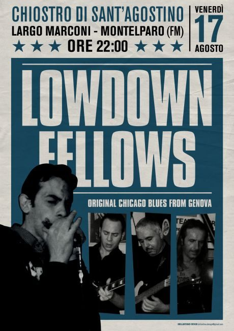 The Lowdown Fellows. Original Chicago Blues from Genova
